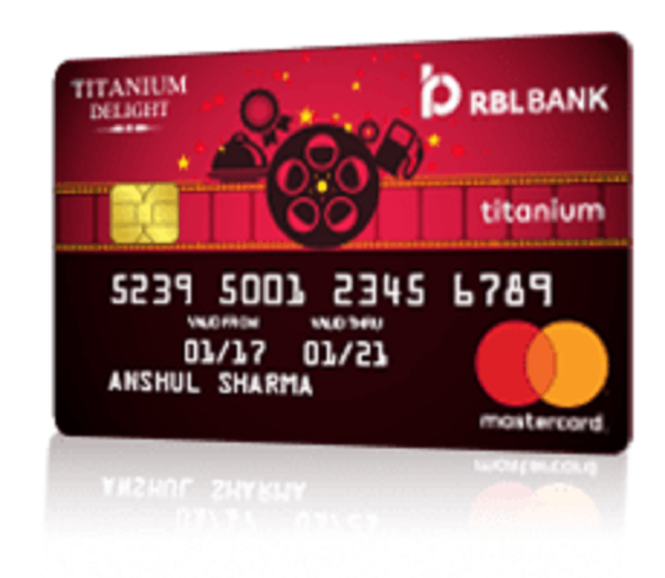 RBL Bank Titanium Delight Credit Card