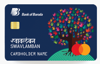 Bank of Baroda SWAVLAMBAN Credit Card