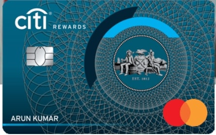 Citi Bank Reward Credit Card