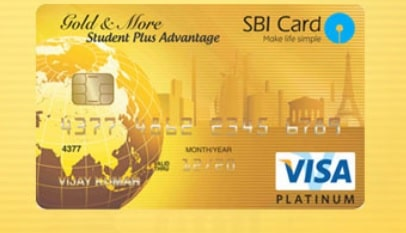 SBI Student Plus Advantage Card